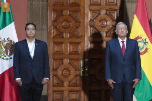 AMLO y Luis Alberto Arce presidente de de Bolivia refuerzan lazos entre ambas naciones
