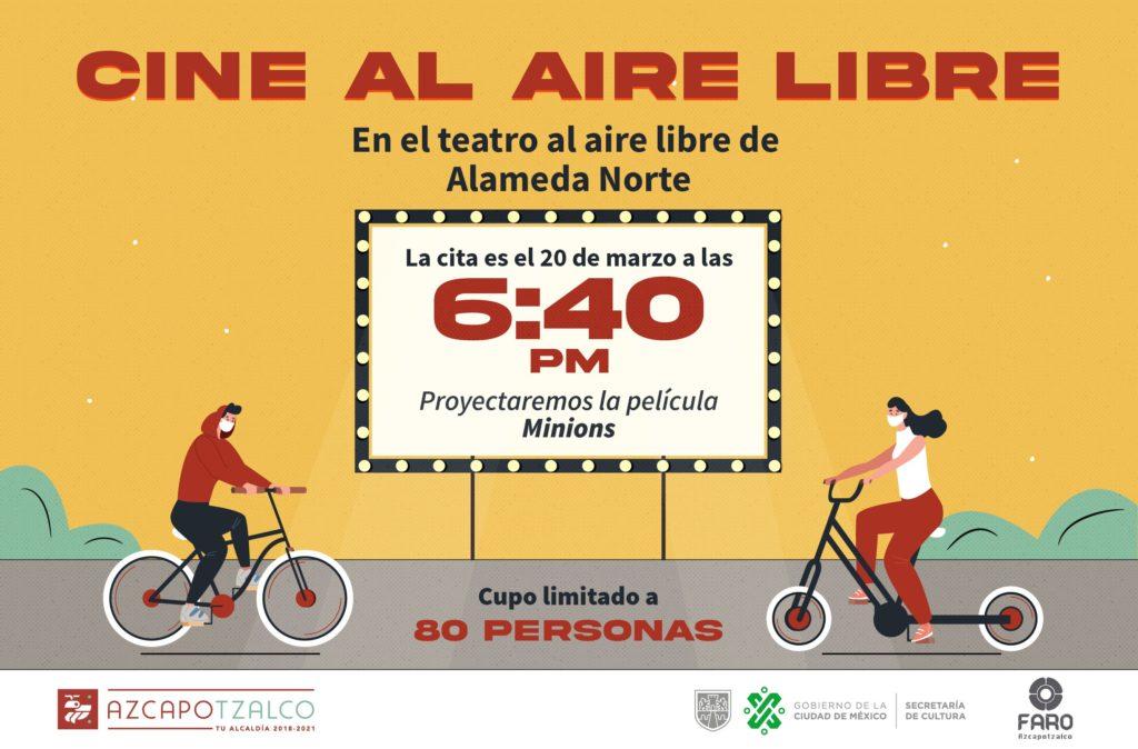 Cine al aire libre Azcapotzalco