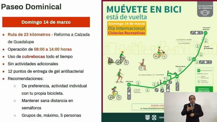 Muévete en Bici 14 de marzo