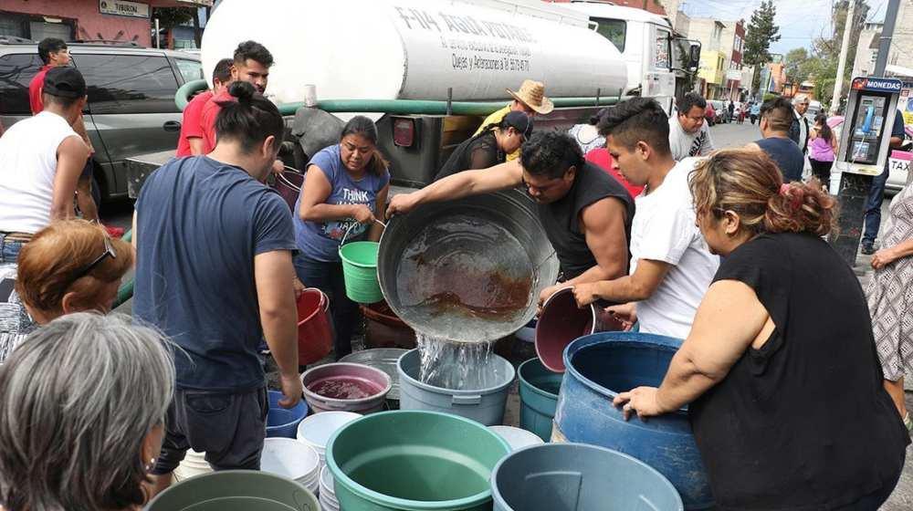 reducirá el abasto de agua en el Valle de México