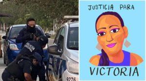 Victoria, mujer asesinada en Tulum
