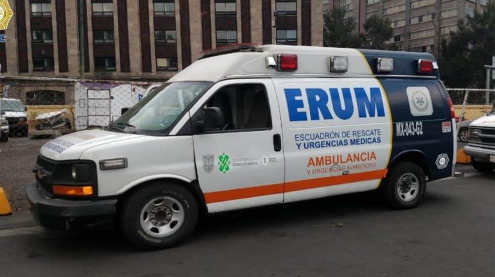 Asaltan a paramédicos del ERUM
