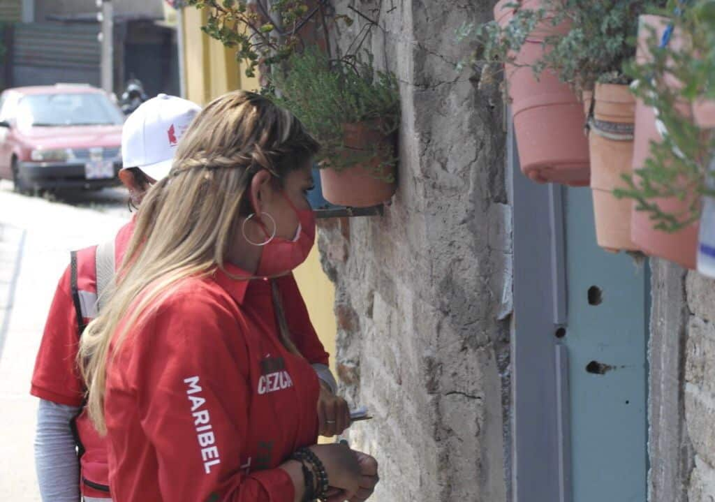 Maribel Martínez política que trabaja por la gente