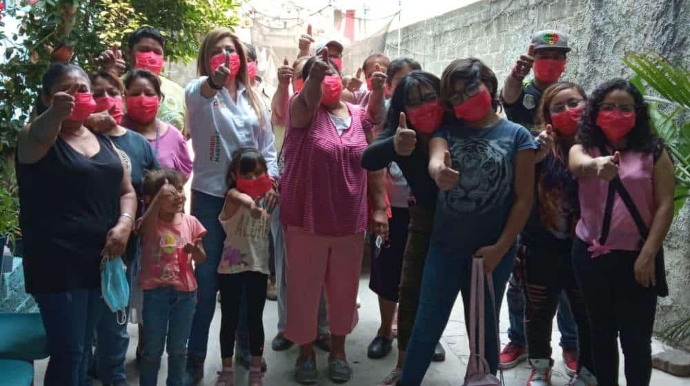 Maribel Martínez apoyos en cultura y educación