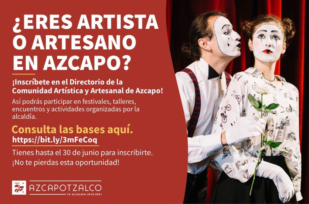 Convocan a artistas y artesanos de Azcapotzalco