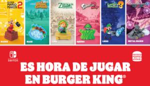 Burger King regalará juguetes temáticos de Nintendo