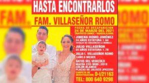desaparición forzada de una familia en Acatic