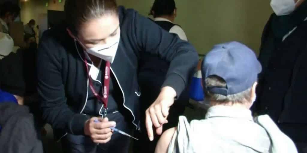 Baja California vacunación Covid de personas de 50 a 59 años
