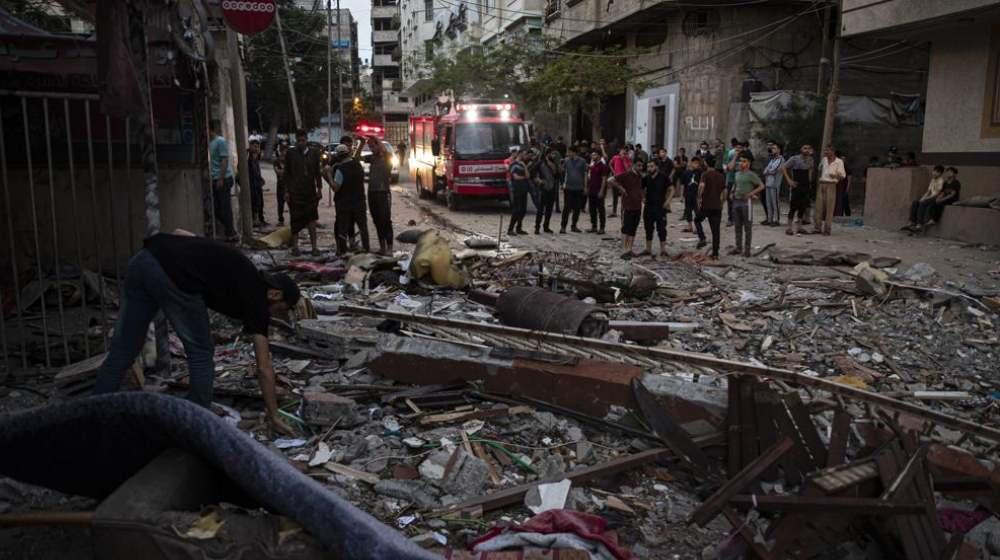 Bombardeo de Israel en Franja de Gaza