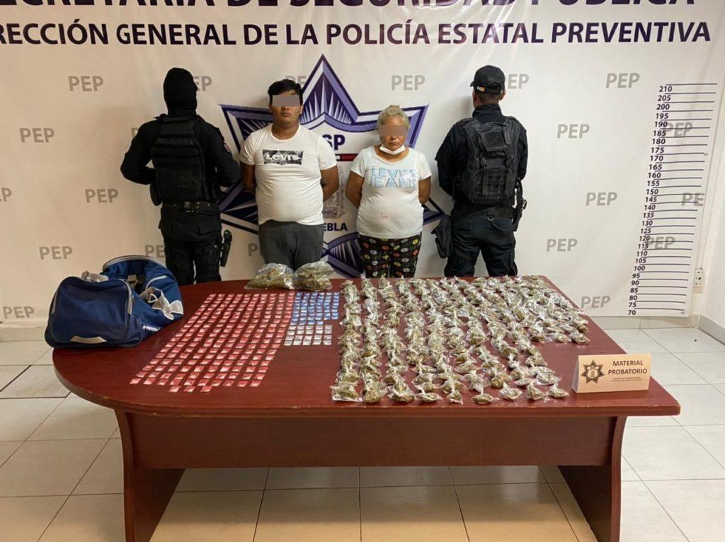 """Detienen en Puebla a """"La Doña"""""""