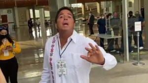Jesús Luis Romero grosería a reportera