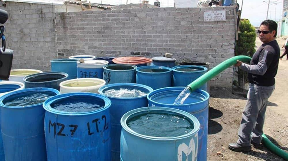 Reducirán abasto de agua en CDMX y Edomex