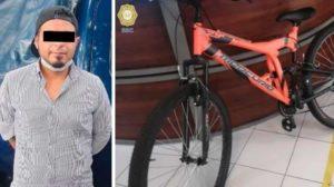 detenido por robo de bicicleta benito juarez