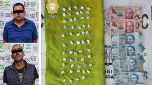 detenidos con cocaína en Iztapalapa