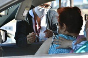 vacunación contra Covid-19 en personas de 50 a 59 años en Tecate