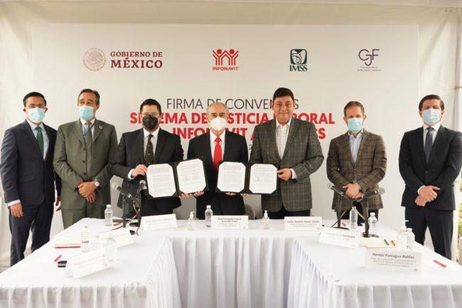 Firman IMSS y Consejo de la Judicatura Federal convenio