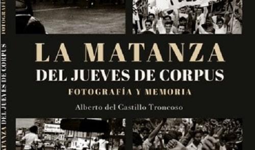 """libro """"La matanza del Jueves de Corpus"""