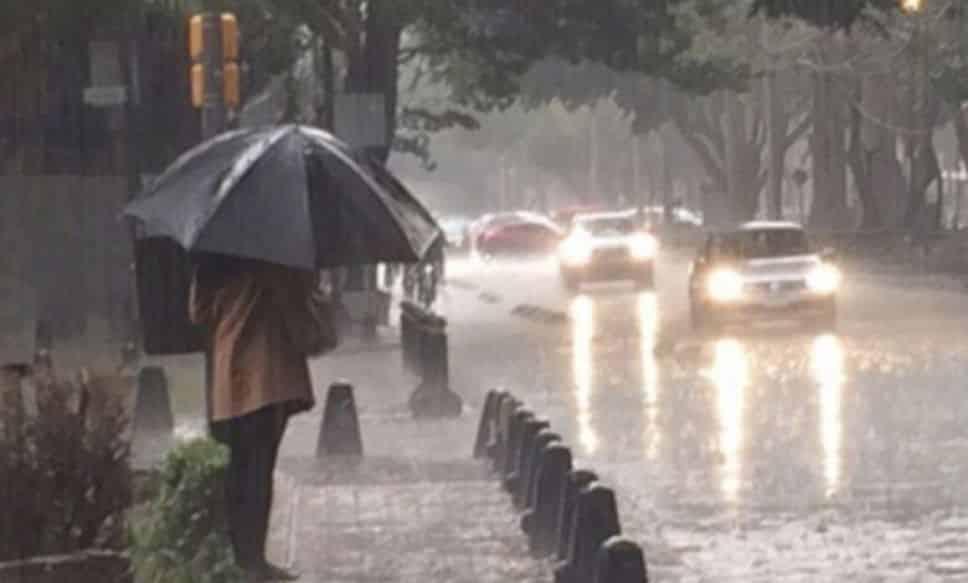 lluvias fuertes en el Valle de México