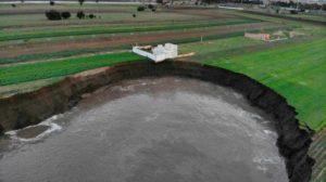¿Por qué se formó el socavón de Puebla?