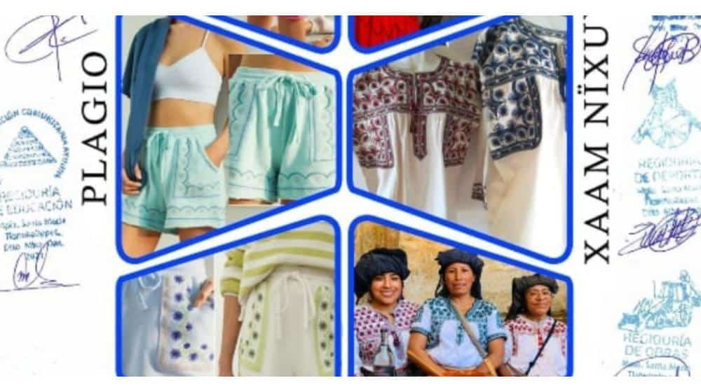 Anthropologie plagió diseños textiles del Pueblo Mixe