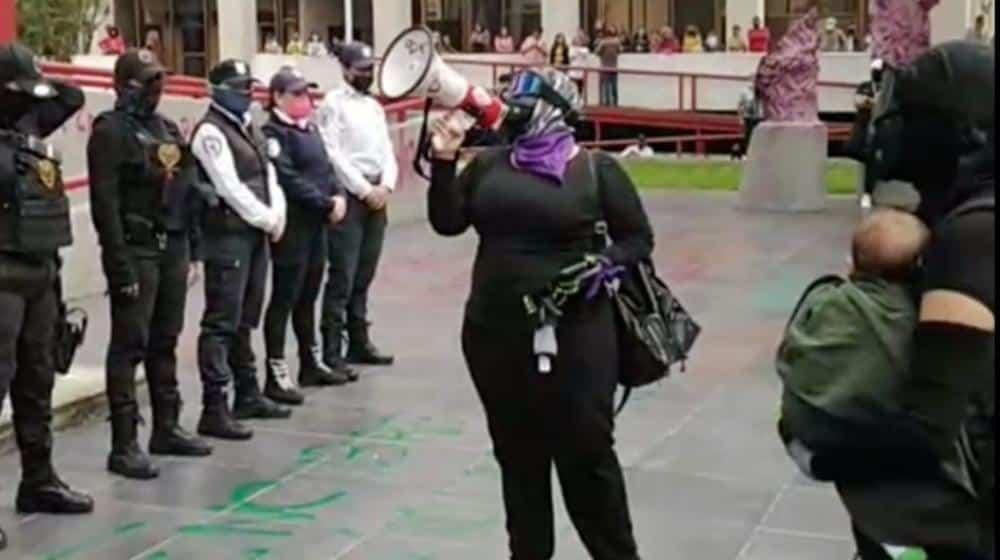 CNDH pide a jalisco no criminalizar protestas de mujeres
