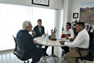 reunión con sindicato de trabajadores de salud