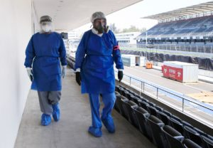 Autódromo Hermanos Rodríguez seguirá como Hospital COVID