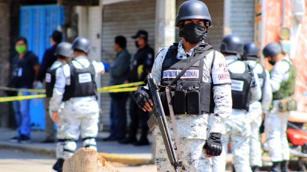 Más guardias nacionales, misma tasa de homicidios