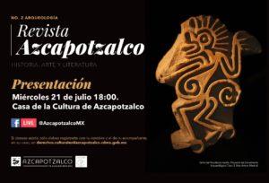 Revista Azcapotzalco Historia Arte y Literatura