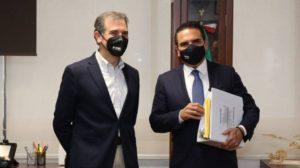 Silvano Aureoles denuncia narcoeleccón ante el INE