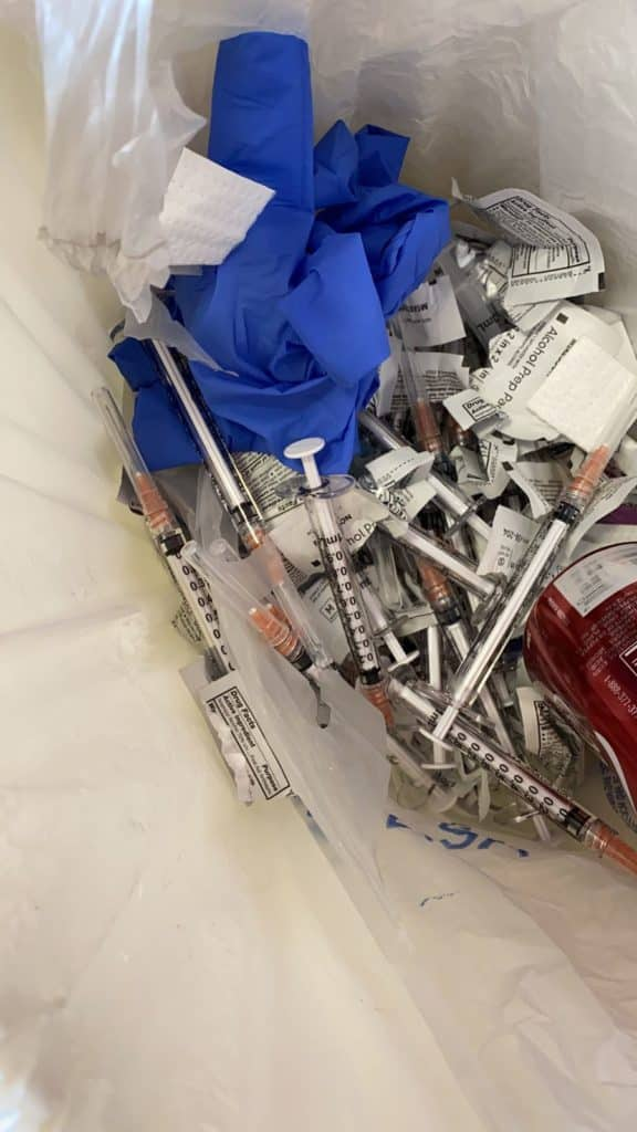 vacunas falsas contra COVID en Chihuahua