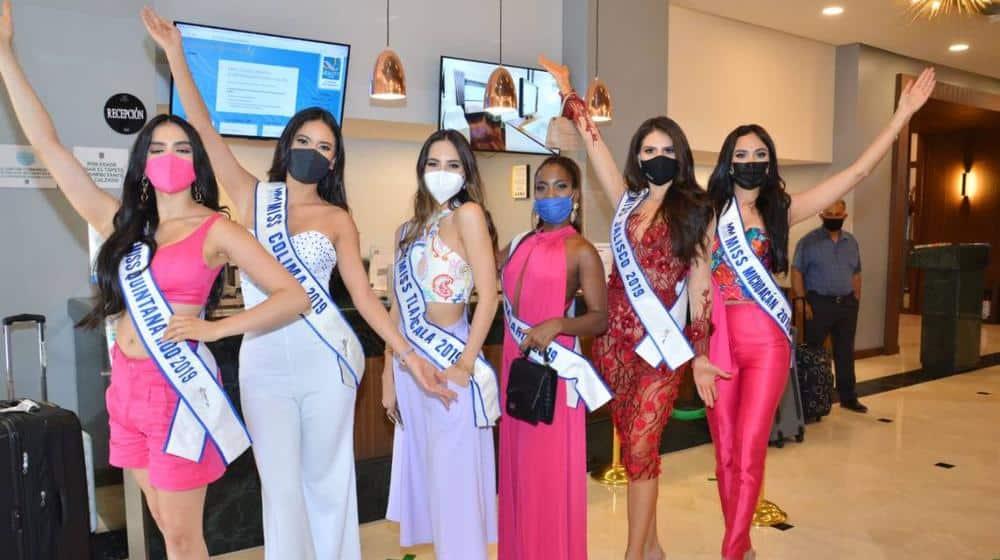 brote de COVID-19 en Miss México