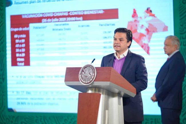Chiapas vacunarse contra COVID