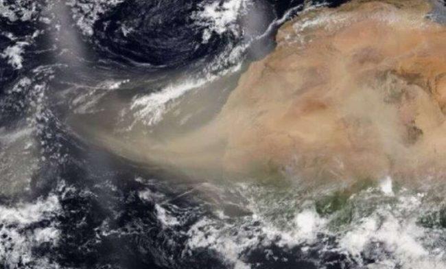 Polvo del Sahara llegará a México