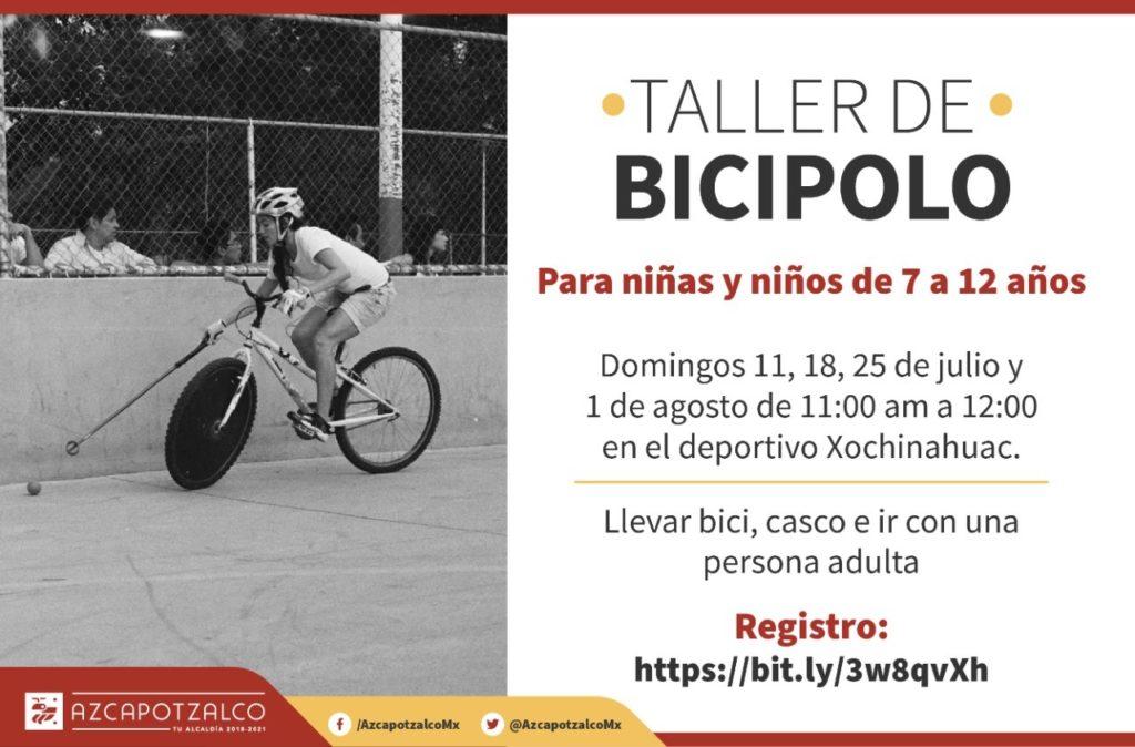 Bicipolo infantil en Azcapotzalco