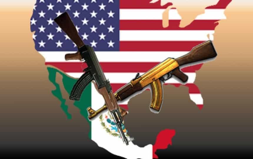Tráfico de armas (Foto tomada de elsemanario.com)