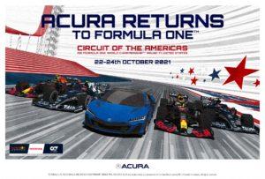 Regresa Acura a la Fórmula 1