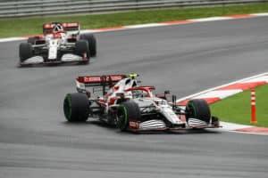 Alfa Romeo en GP Turquía